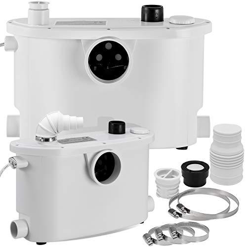KESSER® Hebeanlage Kleinhebeanlage ✓ Fäkalienpumpe ✓ mit integriertem Rückschlagventil ✓ 400 Watt ✓...