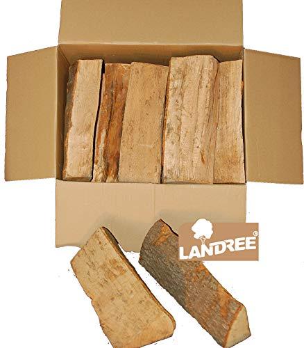 BUCHE 20KG Kaminholz Landree® Brennholz, Feuerholz, Grillholz, ofenfertig, 30 cm Scheitlänge,