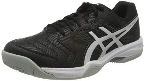 ASICS Herren Gel-Dedicate 6 Clay Tennis Shoe, Black/White, 43.5 EU