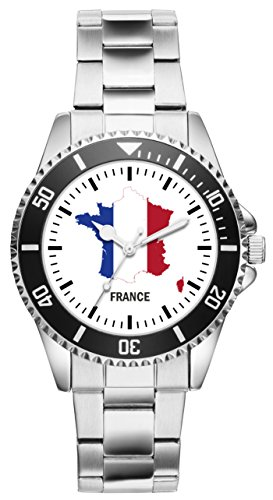 KIESENBERG Uhr - Frankreich Geschenk Artikel Idee Fan 1107