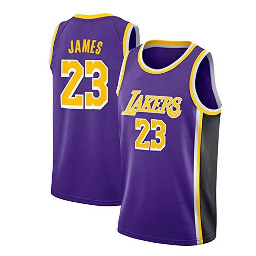 LinkLvoe Herren Trikot - NBA Lakers # 23Lebron James Mesh Basketball Swing Hochwertiges Trikot für den...