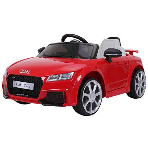 HOMCOM Kinderfahrzeug Elektroauto Fernbedienung MP3 3–6 Jahre PP Rot 103 x 63 x 44 cm