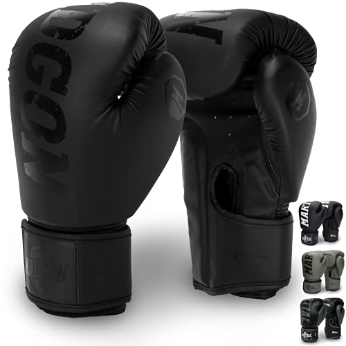 Martial Boxhandschuhe aus bestem Material für Lange Haltbarkeit - Männer und Frauen Kickboxhandschuhe für...