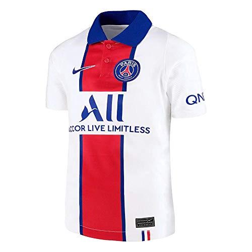 Nike Kinder Auswärts-Trikot Paris Saint-Germain BRT Stad Auswärts-Trikot, White/Old Royal, L, CD4507