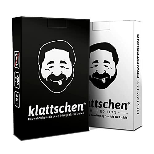 DENKRIESEN - klattschen® Doppelpack - klattschen & klattschen White Edition - Die wahrscheinlich besten...