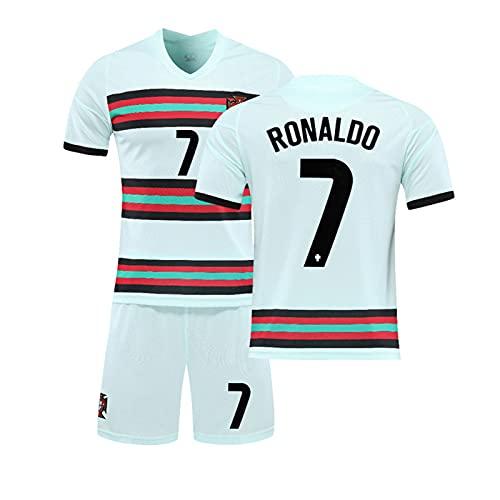 Portugal T-Shirt Trikots - 2021 Sportswear Home Jersey, C.r.i.s.t.i.a.n.o R.o.n.a.l.d.o #7 Fußballtrikot,...