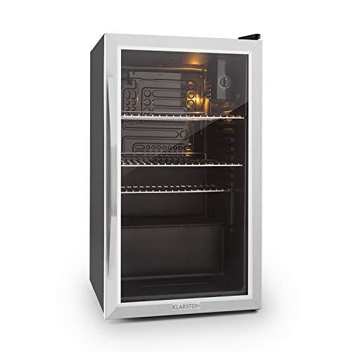Klarstein Beersafe XXL - Black Edition Getrnke-Khlschrank mit 80 Liter, Energieeffizienzklasse A+,...