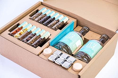DO YOUR WHISKY | DIY Infusion Set für zu Hause & als Geschenk | Whisky-Geschmack selber-machen | 12 Hölzer &...
