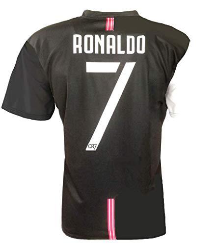 CR7 MUSEU Trikot Ronaldo 7 Offiziell 2019-20 Kinder Herren Erwachsene T-Shirt von Cristiano Ronaldo, Weiß,...
