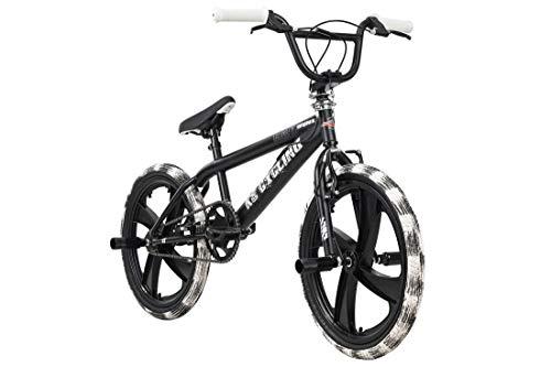 KS Cycling BMX Freestyle 20'' Crusher schwarz-weiß