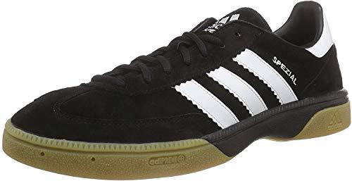 adidas Herren Handball Spezial M18209 Handballschuhe, Schwarz (Black 1/Running White/Black 1), 38 EU
