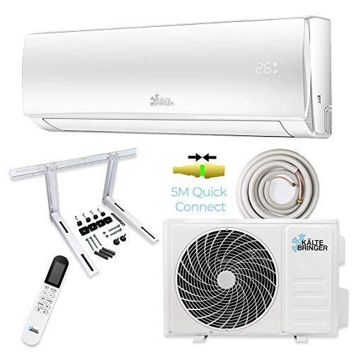 Kältebringer Split Klimaanlage Quick Connector Klimagerät Inverter 12000BTU Klima R32 3,4kW WLAN...