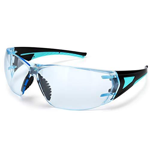 Mpow-Schutzbrille, Schutzgläser mit beschlagfreien, kratzfesten, klaren Rundumgläsern, UV-Schutz für den...