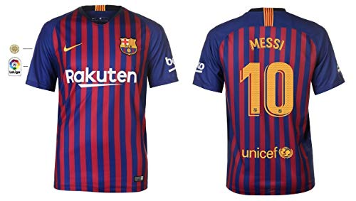 Unbekannt Trikot Herren 2018-2019 Home La Liga - Messi 10 (M)