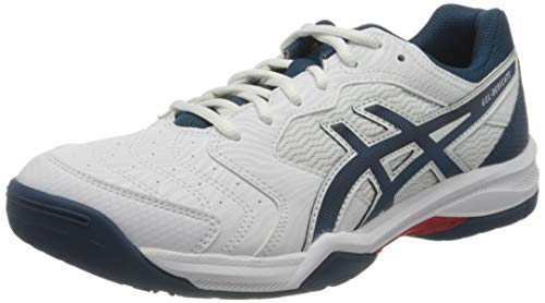 ASICS Herren 1041A074-104_43,5 Tennis Shoes, White, 43.5 EU