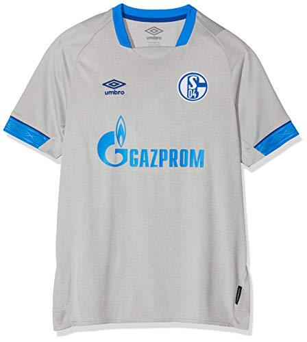 UMBRO Kinder FC Schalke 04 Away SS Jersey, grau, YL