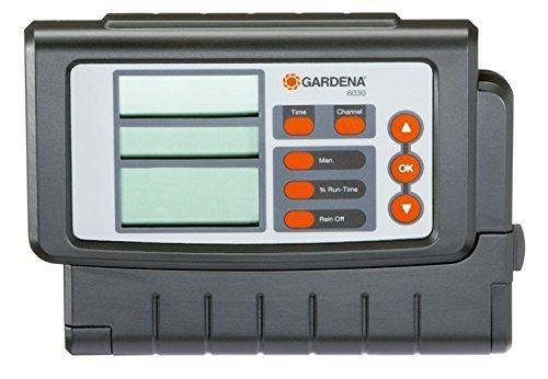 Gardena Bewässerungssteuerung Classic 6030: Bewässerungscomputer zur automatischen Bewässerung, großes...