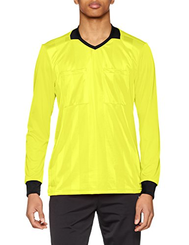 adidas Herren Referee 18 Trikot, Shock Yellow, L