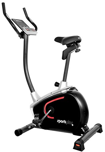 SportPlus Heimtrainer Fahrrad fr zuhause, Kinomap-App, Ergometer ideal fr Heimtraining, ca. 9 kg Schwungmasse,...