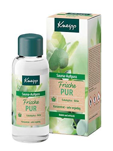 Kneipp Sauna-Aufguss Frische Pur, Eukalyptus & Birke, belebt und erfrischt, 100 ml