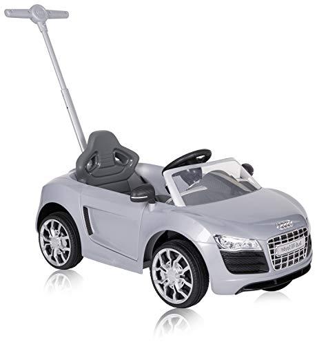 ROLLPLAY 44353 Push Car mit ausziehbarer Fußstütze, Für Kinder ab 1 Jahr, Bis max. 20 kg, Audi R8 Spyder,...