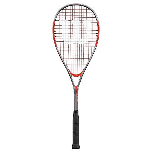 Wilson Squash-Schläger, Impact Pro 900, Unisex, Grifflastige Balance, Rot/Grau, WRT915030