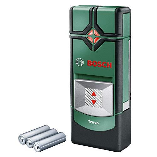 Bosch Ortungsgerät Truvo (3 x AAA Batterien, Erfassungstiefe Stahl/Kupfer/stromführende Leitungen max....