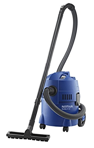 Nilfisk Buddy II 12 EU Nass-/Trockensauger, für die Reinigung im Innen- & Außenbereich, 12 Liter...