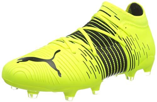 Puma Herren Future Z 3.1 FG/AG Fußballschuh, Yellow Alert Black White, 43 EU