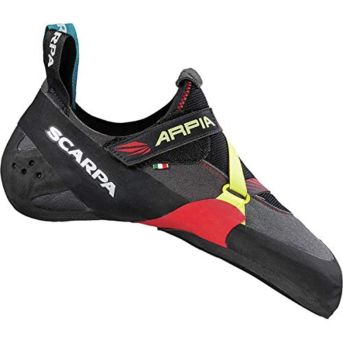 Scarpa Arpia Kletterschuhe Herren Black/red Schuhgröße EU 42,5 2020 Boulderschuhe