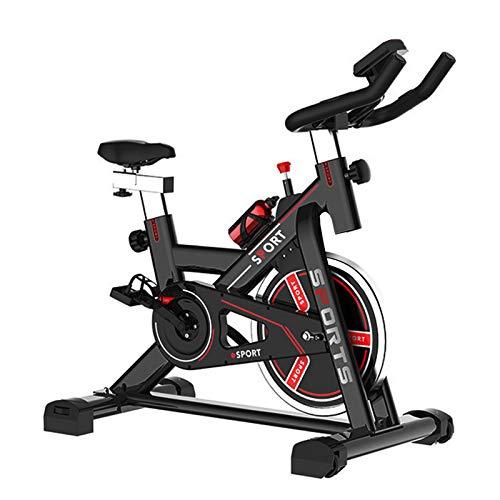 Heimtrainer Fahrrad Indoor Spinning Bikes Fitnessbike Mit Herzfrequenzmonitor Hometrainer mit verstellbarem...