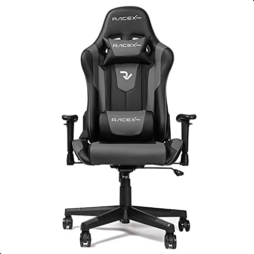 RIGHT TECHNOLOGY Gaming Stuhl Bürostuhl Gamer Ergonomischer Stuhl Einstellbare Armlehne Einteiliger...