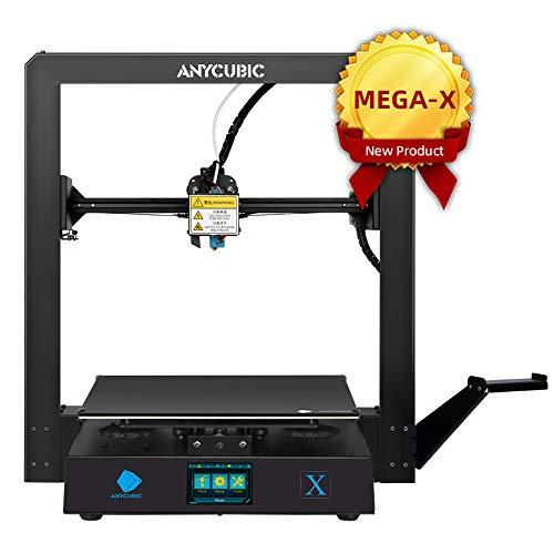 ANYCUBIC MEGA-X FDM 3D Drucker für Baugröße 300 x 300 x 305mm Z-Achsen Dual Trapezgewindespindel UltraBase...