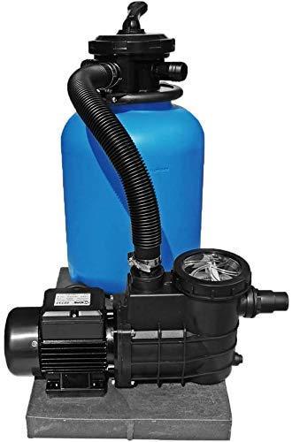 well2wellness® Pool Sandfilteranlage TOP 500 mit Filterpumpe Aqua Plus 11