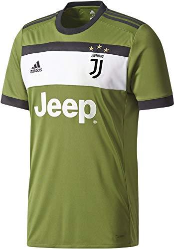 adidas Herren Juventus Turin Ausweichtrikot Replica, Cragrn/Black, L