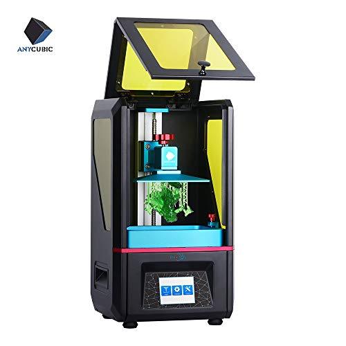 ANYCUBIC 3D Drucker Photon UV DLP LCD Harz Drucker, Vollständig montiert mit 2,8 Zoll Farbtouchscreen und...