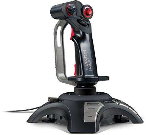 Speedlink PHANTOM HAWK Flight Stick - Joystick für PC/Computer - Controller für Simulator-Spiele - USB -...