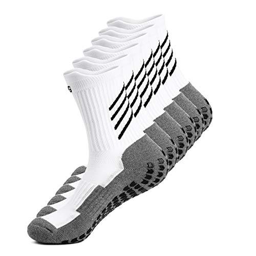 Gogogoal Rutschfeste sport Socken herren damen, Dicke, Deodorant Atmungsaktive anti-rutsch athleticsocke für...