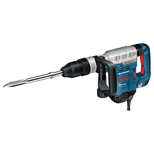 Bosch Professional Schlaghammer GSH 5 CE (mit SDS-max, 400 mm Spitzmeißel, 8,3 J Schlagenergie, 1.150 W,...