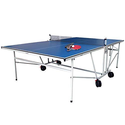 skandika Tischtennisplatte Indoor | Stabiler Tischtennis-Tisch mit Sicherheits-Verriegelungssystem,...