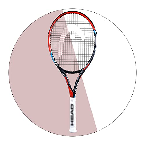 Tennisschläger für Erwachsene Matchtraining Herren und Damen Vollcarbon Sporttrainingszubehör