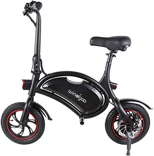 Windgoo Elektroroller, Elektro Scooter mit 350W Motor/6.0 Ah Batterie, Höchstgeschwindigkeit 25Km/h/Maximale...