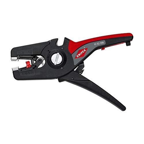 KNIPEX PreciStrip16 Automatische Abisolierzange (195 mm) 12 52 195 SB (SB-Karte/Blister)