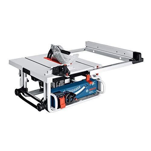 Bosch Professional Tischkreissäge GTS 10 J (Sägeblatt-Ø: 254 mm, 1.800 Watt, inkl. Winkelanschlag,...