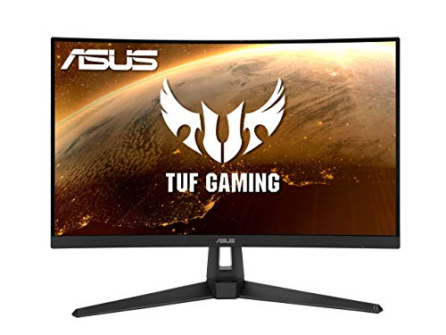ASUS TUF Gaming VG27VH1B 68,56 cm (27 Zoll) Curved Monitor (Full HD, 165Hz, FreeSync Premium, VGA, HDMI, 1ms...