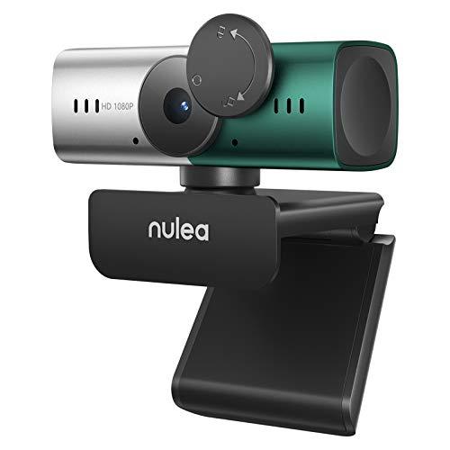 C905 Webcam mit Mikrofon, Full HD 1080P Webcam mit Autofokus und Objektivdeckel für PC/Laptop USB Webkamera...