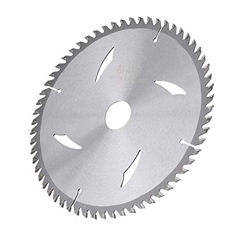 Sägewerkzeug, 7 Zoll 60 t Zähne 25,4 mm Bohrungsdurchmesser langlebige Legierung Kreissäge Holz...