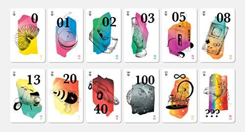 HelloAgile Planning Poker Karten - zur Schätzung für agile Teams, z.B. für Scrum Teams – 4 Spieler