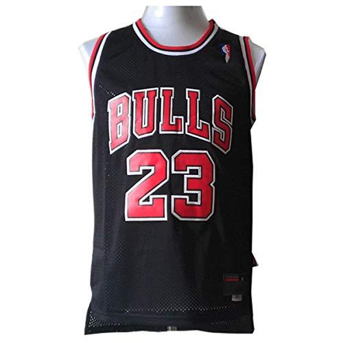 LinkLvoe Herren NBA Michael Jordan # 23 Chicago Bulls Basketball Trikot, die treuen Fans der Los Angeles...
