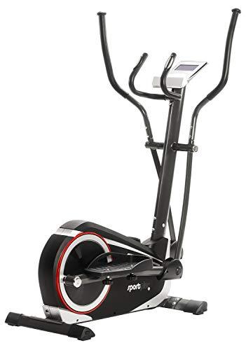 SportPlus Crosstrainer für zuhause - 24 Stufen & 24 Trainingsprogramme, Ergometer mit App Steuerung (u.a....